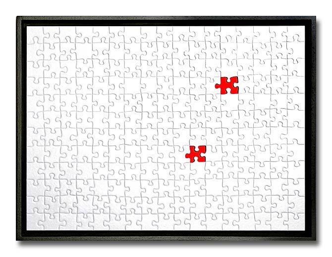 puzzel blanc